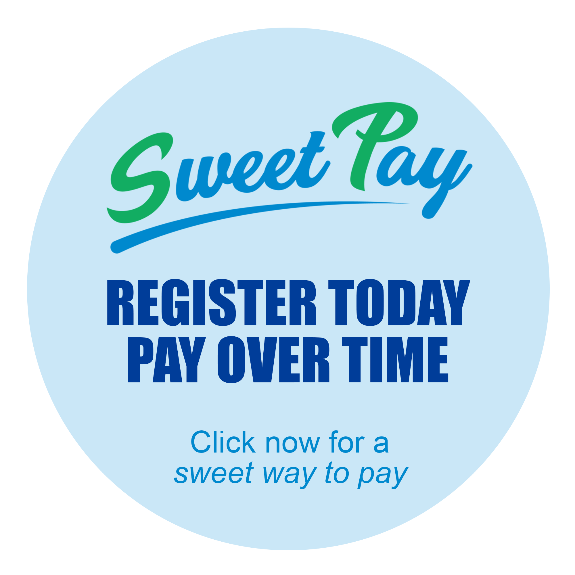 Sweet Pay Financing Available